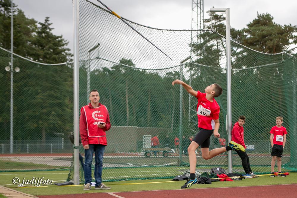 clubkampioenschappen speer